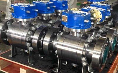 Gr 2/5 Titanium Alloy Ball Valves